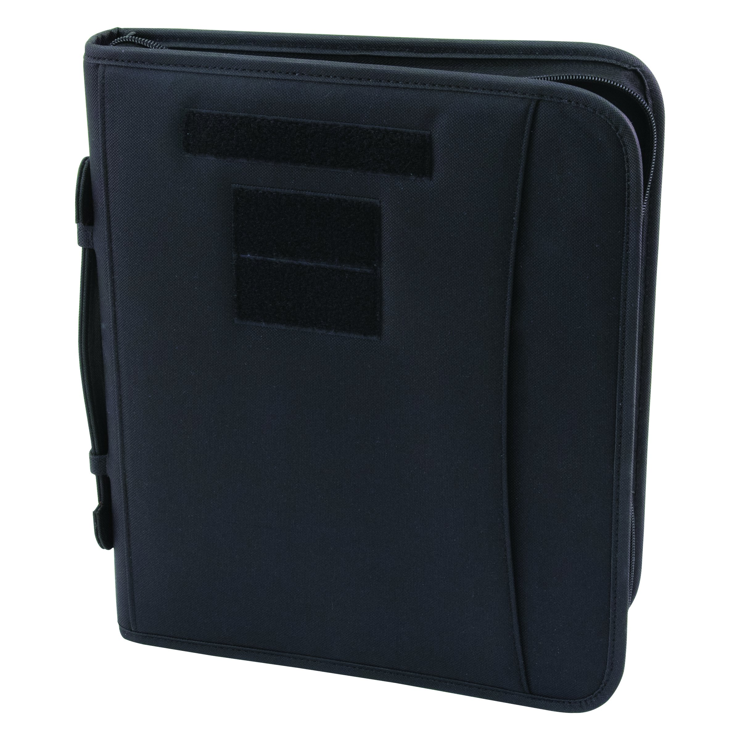 Field Ready Black Military Zippered 3 Ring Binder And Padfolio by Military Luggage Company
