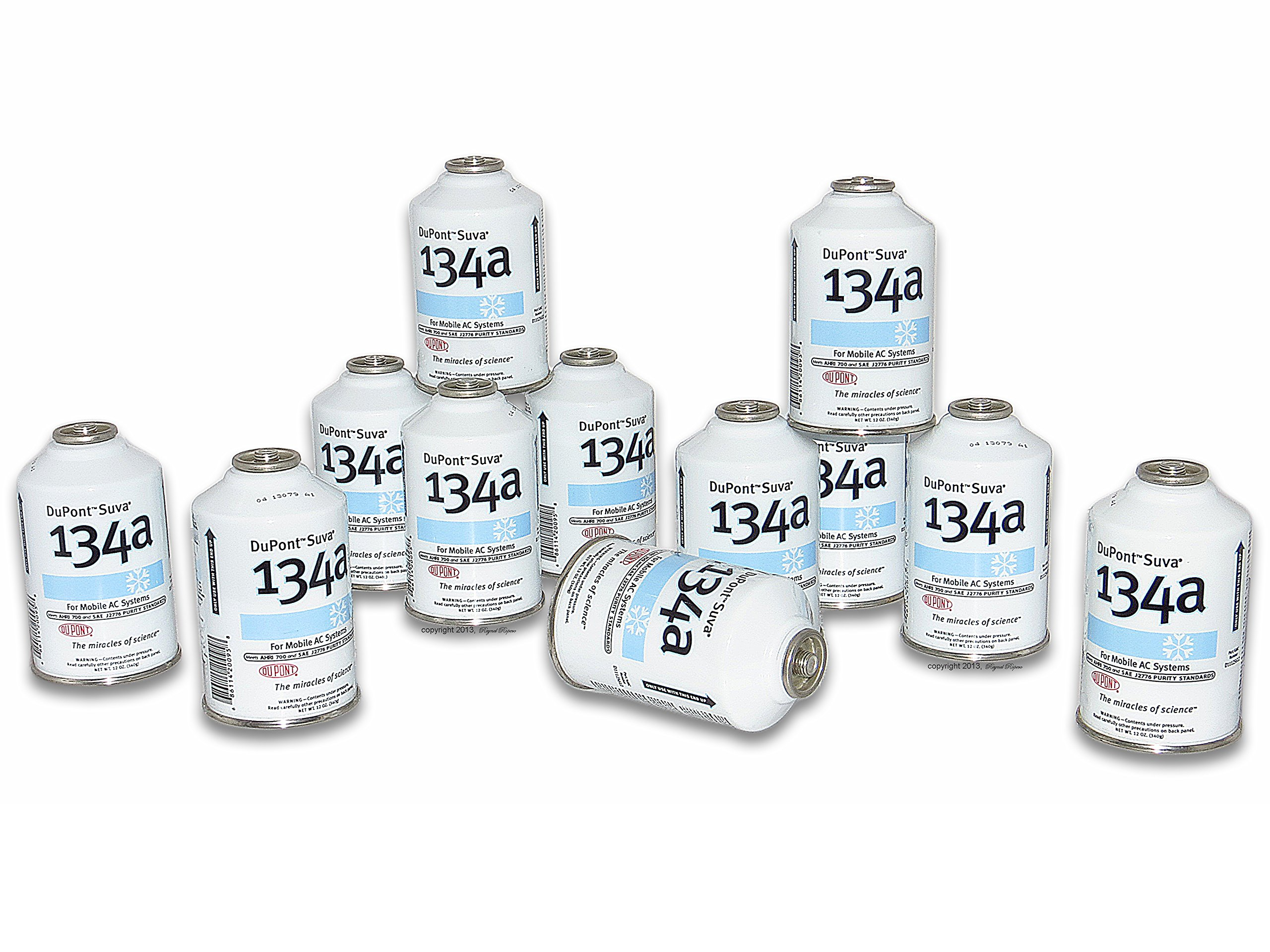 Chemours DuPont Suva 134a Refrigerant, 12 oz., Pack of 12 by DuPont