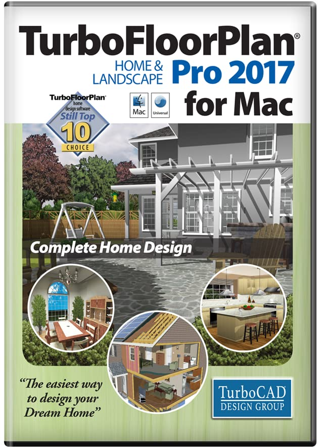 Amazon Com Turbofloorplan Home And Landscape Pro 2017 Mac Download Software