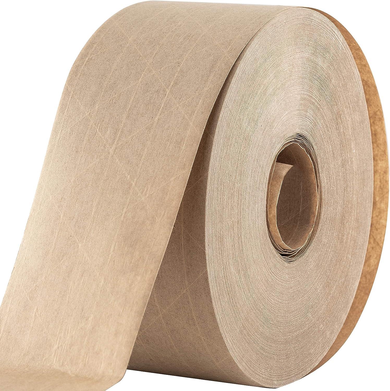 Wet Tape kraft paper high adhesive strength # length 200m width 30mm