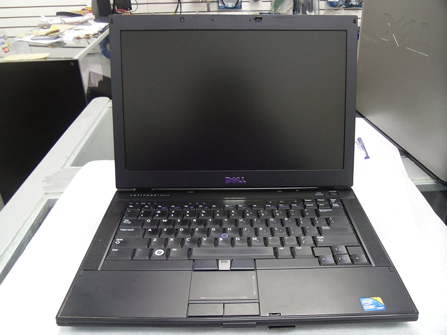 "Dell Latitude E6410 14.1"" Laptop with Intel Core i5 M 520@2.40GHz, 4GB RAM, 250GB HD and licensed Windows 7 Professional from a Microsoft Authorized Refurbisher"