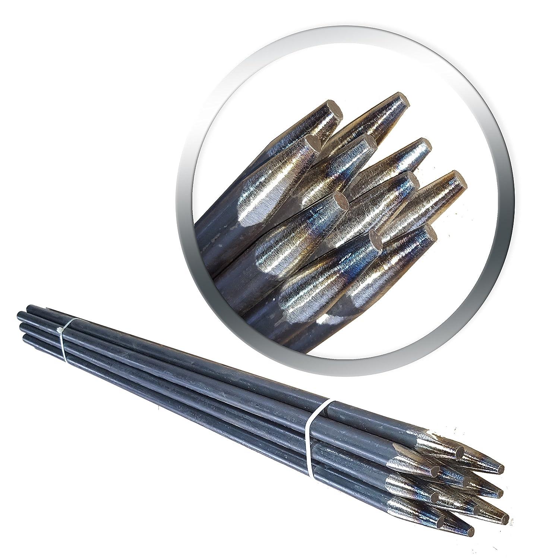 verschiedene L/ängen Schnurpf/ähle 800mm 80cm Schnureisen 3 St/ück 16mm Schnurpfahl Schnurnagel Lang