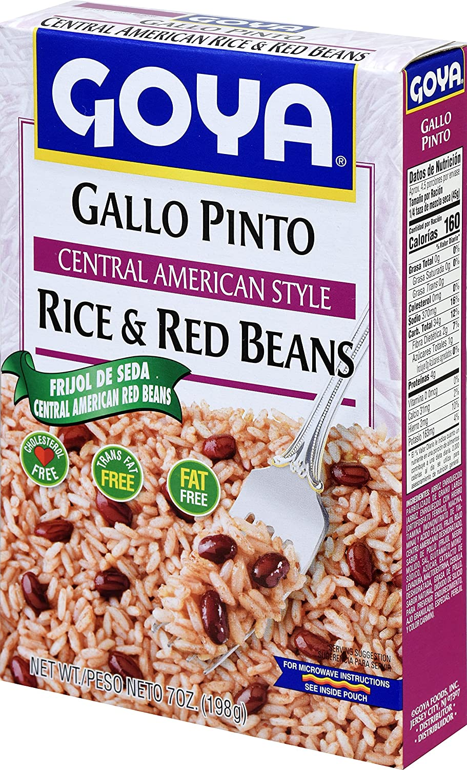 Goya Foods Central American Rice Red Beans 7 Ounce Pack Of 12
