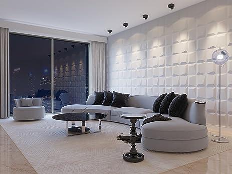 Merveilleux Eco Friendly 3D Decorative Wall Panels MOSAIC (Bamboo Fiber) 6 Tiles / 32 Sq
