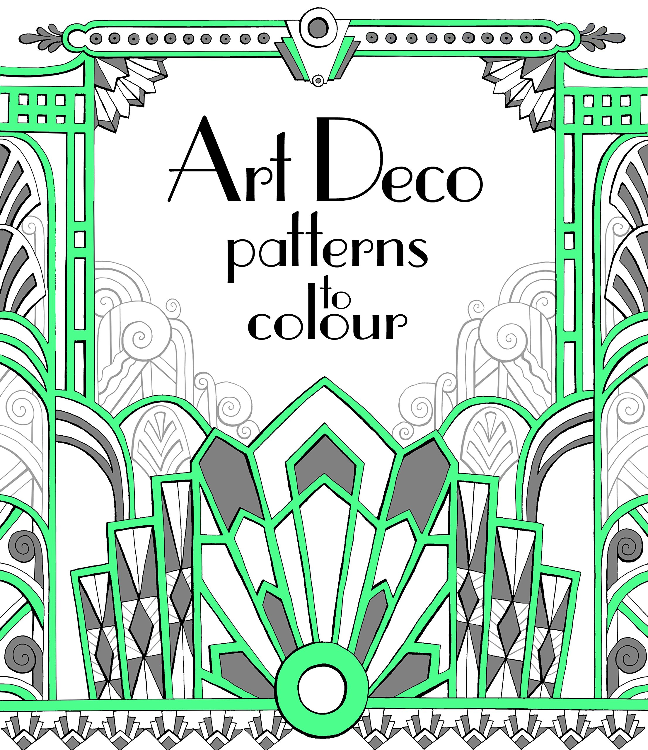 Famous Coloring Book Wallpaper Tiny Coloring Book App Round Bulk Coloring Books Animal Coloring Book Youthful Animal Coloring Books PinkBig Coloring Books Art Deco Patterns To Colour: Amazon.co.uk: Emily Bone, Mary ..