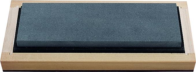 Holzschatulle Stein 150x25x19 mm RH PREYDA Hard Black Arkansas Bench Stone K/örnung 2000-3000