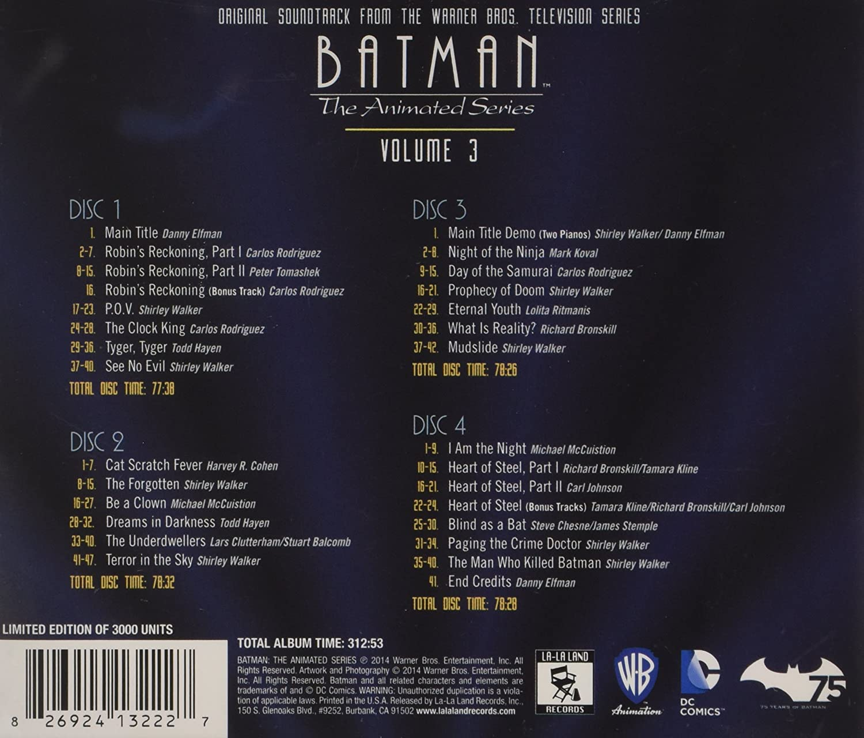 Batman: the Animated..: Original Soundtrack: Amazon.es: Música