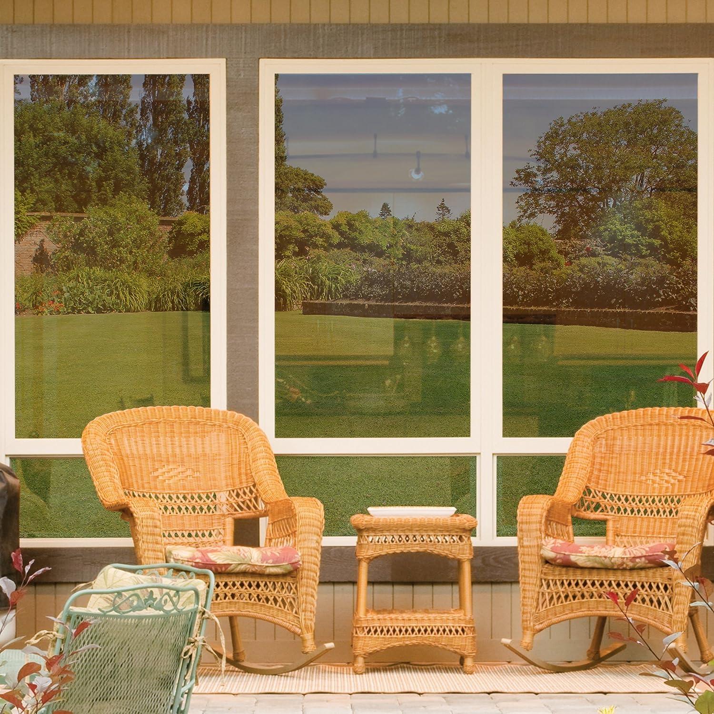 amazoncom gila prs361 daytime privacy window film 36inch x 15feet mirror home improvement