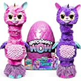 HATCHIMALS 6046989 WOW, Llalacorn 32 Inch (81.3cm) Tall Interactive Hatchimal with Re-Hatchable Egg (Styles May Vary), Multi
