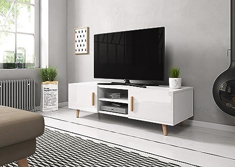 Sweden 2 – Mueble TV de estilo Escandinavo: Amazon.es: Hogar