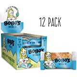 Bobo's Oat Bar (Original, 12 Pack of 3 oz Bars) Gluten Free Whole Grain Rolled Oat Bar - Great Tasting Vegan On-The-Go Snack, Made in the USA