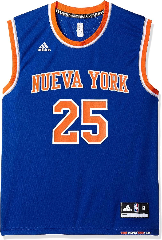 adidas Camiseta de Derrick Rose, número 25, de los New York Knicks ...