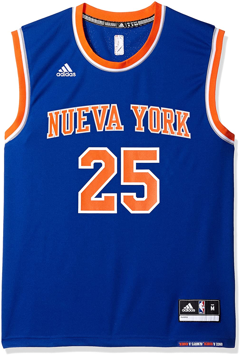 adidas NBA New York Knicks Derrick Rose  25 Men s Replica Jersey   Amazon.co.uk  Sports   Outdoors 62b777e44