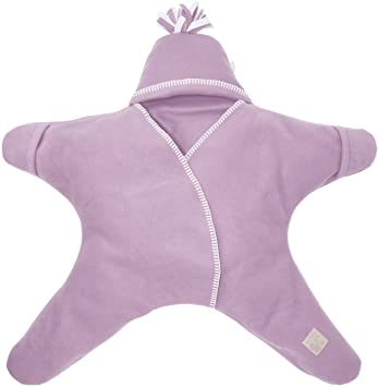 Tuppence and Crumble Star Baby Wrap Heather Size Small