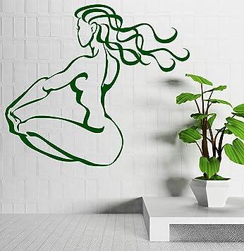 Amazon.com: Vinilo de pared calcomanía Art Sketch de ajuste ...
