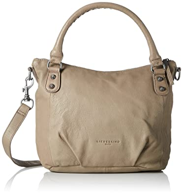 9dd695b5d03f9 Amazon.com  Liebeskind Berlin Women s Gina6 vintag Hobos and Shoulder Bag  Taupe Size   Shoes