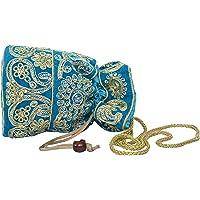 Craft Trade Potli Bag Rajasthani Embroidered Work Stylish Handbag For Women