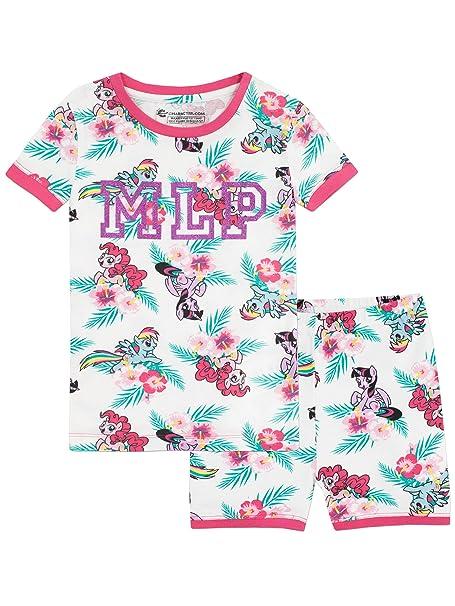 My Little Pony Pijamas de manga corta para niñas Mi Pequeño Pony Ajuste Ceñido Multicolor 2