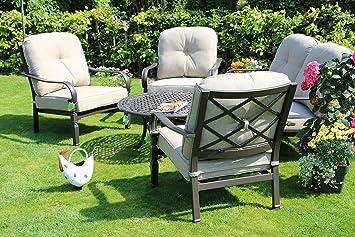 Made for us Aluminio jardín de Muebles wetterfestes Juego de ...