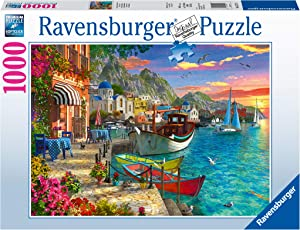 Ravensburger Grandiose Greece 15271 1000 Piece Puzzle for Adults, Every Piece is Unique, Softclick Technology Means Pieces Fit Together Perfectly