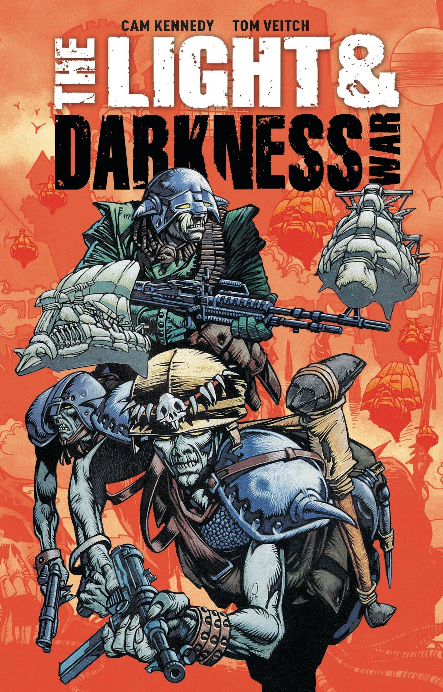 The Light & Darkness War by Titan Comics