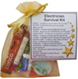Electrician Survival Kit Gift (New job, work gift, Secret santa gift for colleague, gift for Electrician gift)