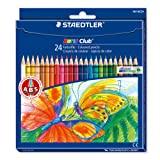 Noris Club colouring pencils 144 NC24, pack 24 assorted