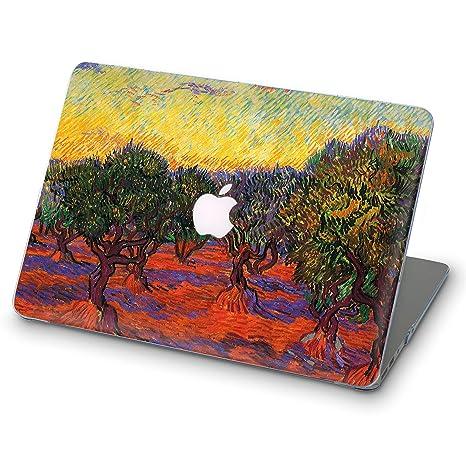 super popular ab81a 972da ZVStore Van Gogh MacBook Case Art Design Protective Shell Sleeve Plastic  Hard Pro Case for MacBook (Pro 13 (A1706 & A1708 & A1989) 2018, Grove of ...