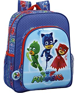P J Masks Backpack Mochila Infantil, 32 cm, 830 Liters, Azul ...