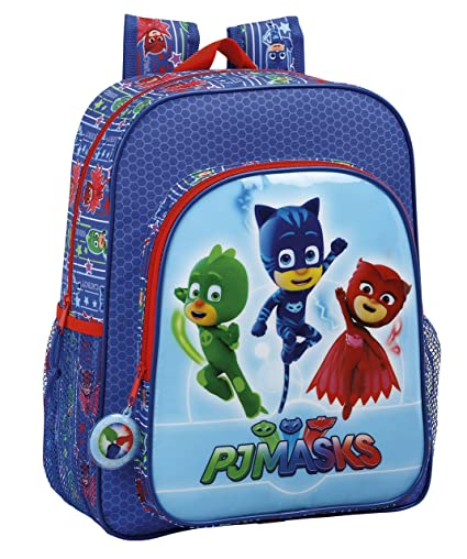 Safta Mochila Escolar Junior Pjmasks Oficial 320x120x380mm: Amazon.es: Equipaje