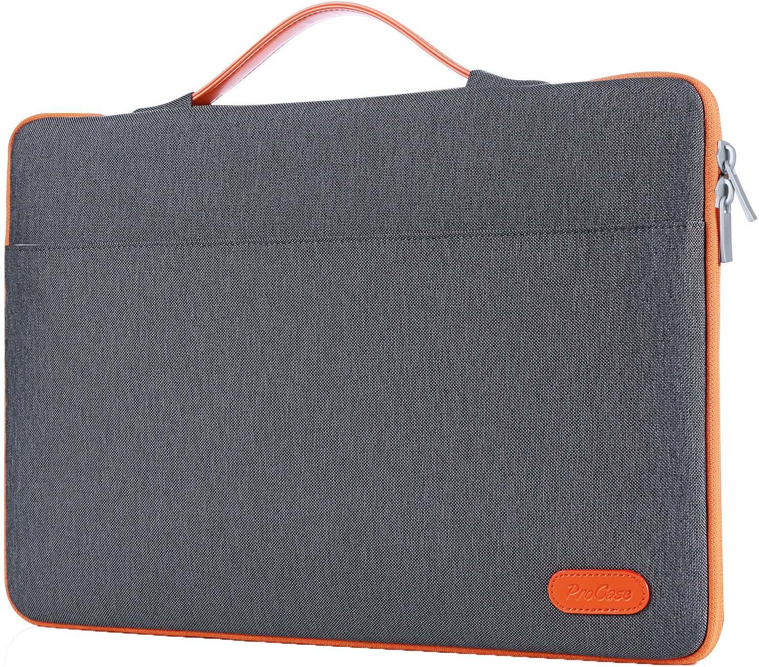 ProCase 14 - 15.6 Inch Laptop Sleeve Case Protective Bag, Ultrabook Notebook Carrying Case Handbag for 14'' 15'' Samsung Sony ASUS Acer Lenovo Dell HP Toshiba Chromebook Computers -Dark Grey