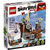 LEGO Angry Birds 75825 Piggy Pirate Ship Building Kit (620 Piece)