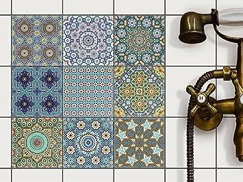 fliesenaufkleber mosaikfliesen - cretatisto fliesensticker ... - Mosaik Fliesen Küche