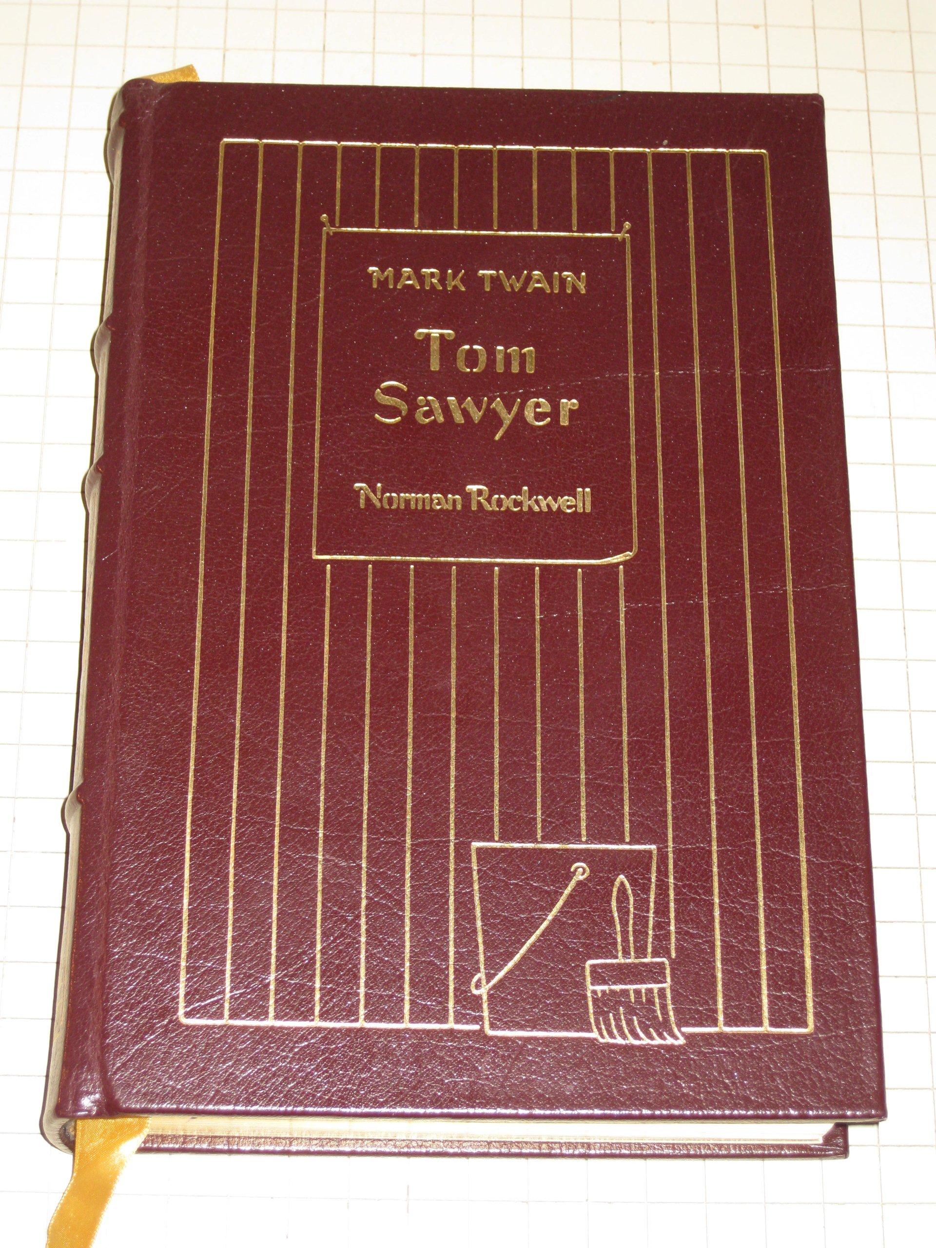 easton press ADVENTURES OF TOM SAWYER Mark Twain /& Norman Rockwell
