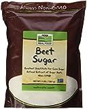 NOW Foods Beet Sugar, 3-Pound