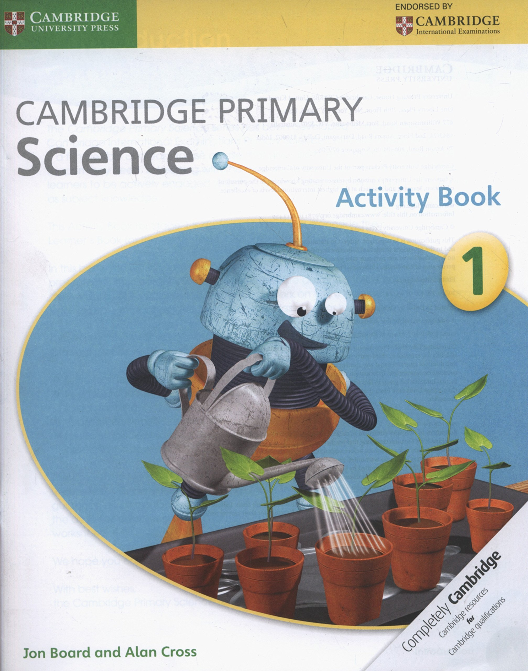 Cambridge Primary Science Stage 1 Activity Book pdf epub