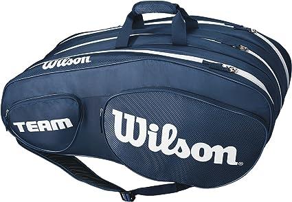 Wilson Team III Bag 12er blau-weiß