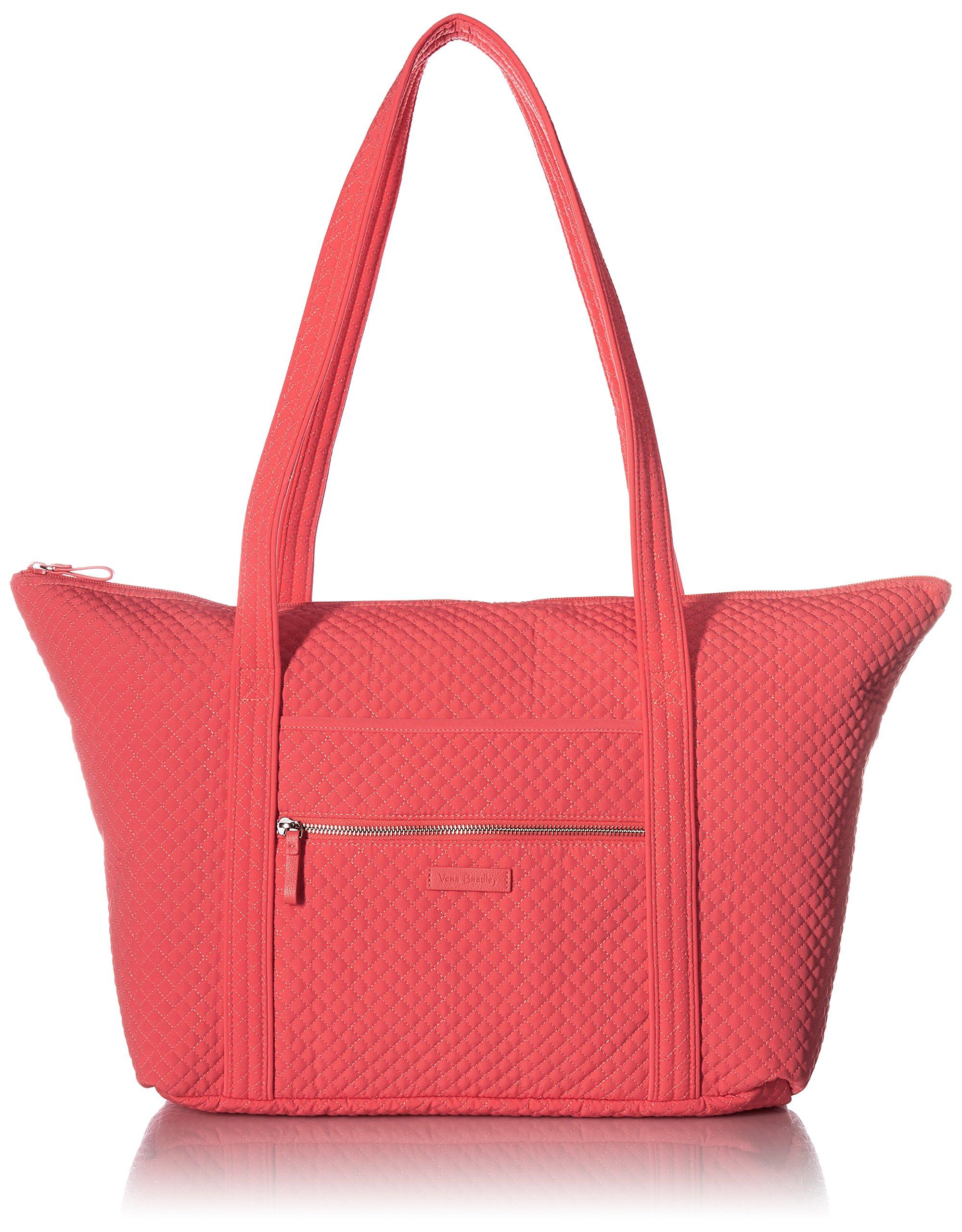 Vera Bradley Iconic Miller Travel Bag, Coral Reef