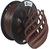 CCTREE 3D Printer PLA Filament 1.75MM Accuracy +/- 0.05 mm 1kg Spool (2.2lbs) for Creality CR-10S, Brown