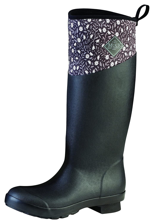 Muck Boot Women's Tremont Wellie Tall Snow B01J5ZZ7JE 6 B(M) US|Black Meadows