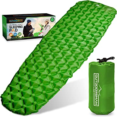 Outdoorsman Lab Air Mattress, Lightweight And Comfortable Inflatable Sleeping Pad
