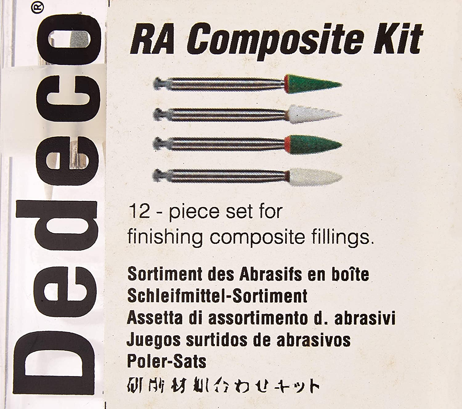 Pack of 12 Dedeco 1053 RA Composite Finishing