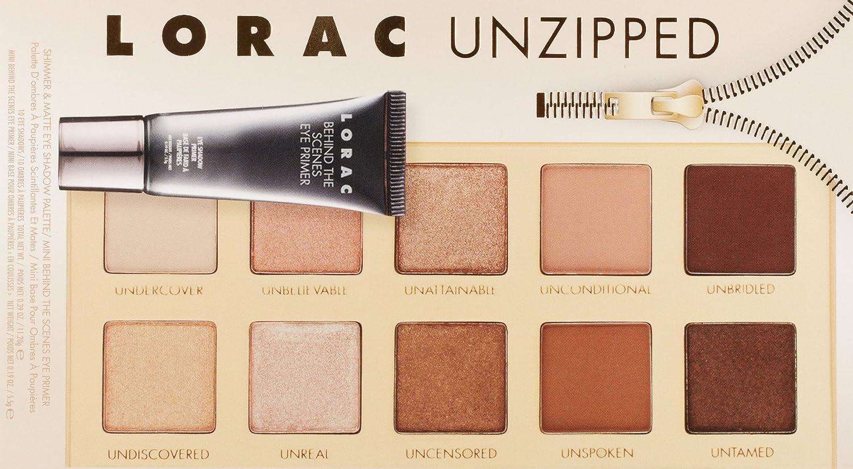 Lorac Unzipped Eye Shadow Palette Luxury Beauty Lt Pro Naturally Glam