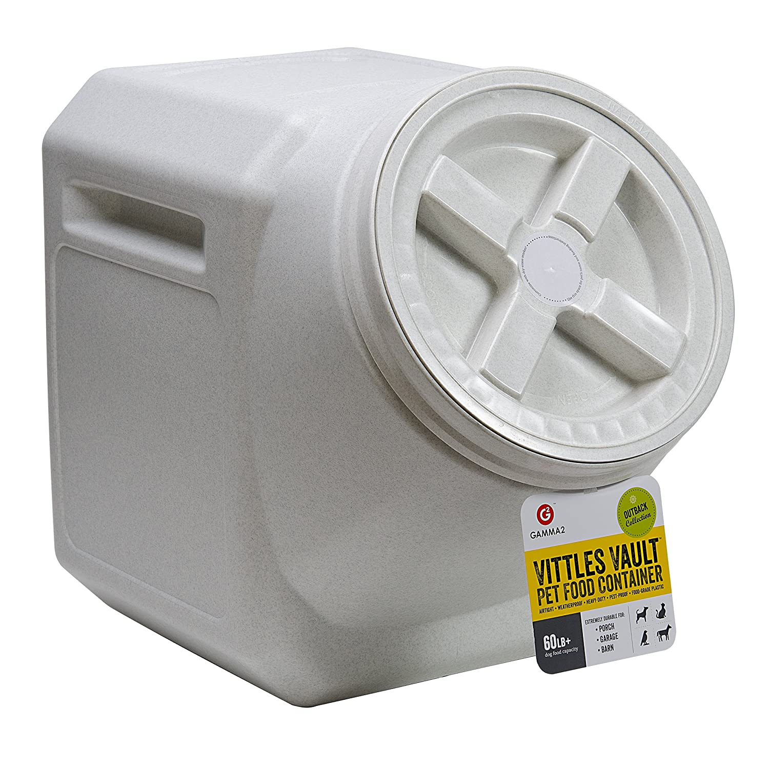 Pet Supplies Vittles Vault Outback Stackable 60 lb Airtight Pet