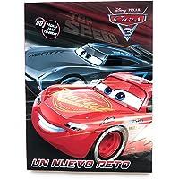 Pixar Cars Libro para Colorear 80 páginas para niño. Estimula Motricidad Fina.