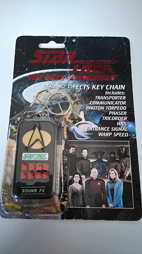amazon com star trek next generation electronic key chain sound fx