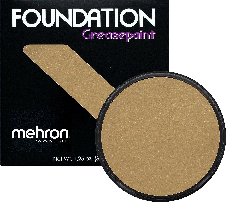 Mehron Makeup Foundation Greasepaint (1.25 oz) (BLACK) 102