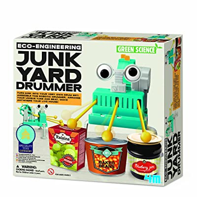 "4 m ""Eco-engineering Junkyard Batteur kit de construction"