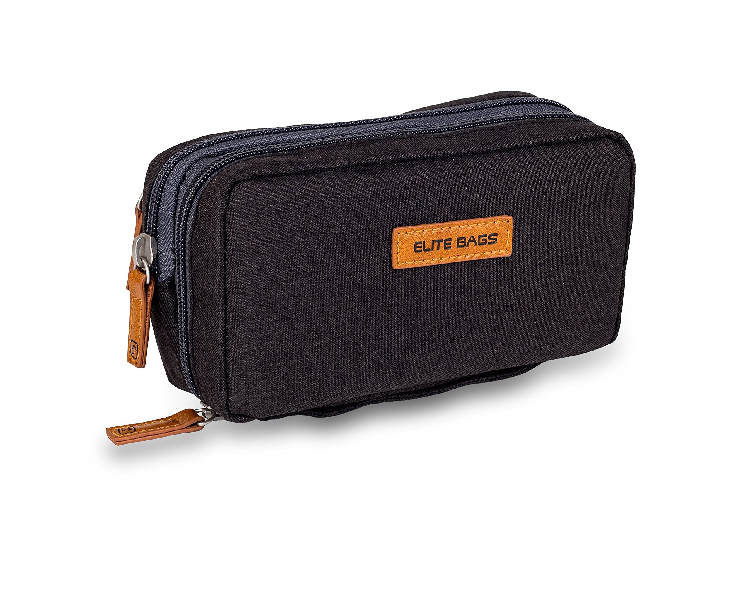 Black Isothermal Kitbag for Diabetics| Reusable Cold Gel Included| | Different Compartments