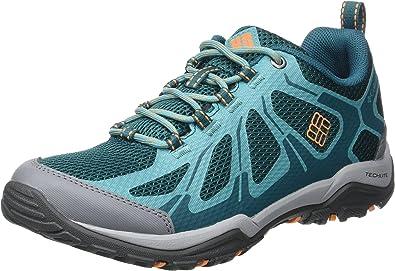 Columbia Peakfreak XCRSN II Xcel W, Zapatillas de Deporte Exterior para Mujer, Turquesa (Deep Wave/Valencia 314), 41.5 EU: Amazon.es: Zapatos y complementos